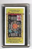 KING'S OWN 2nd Bn REGIMENTAL COLOURS FRIDGE MAGNET